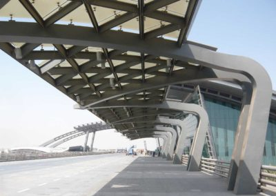 DOHA AIRPORT – ROADWAY CANOPY